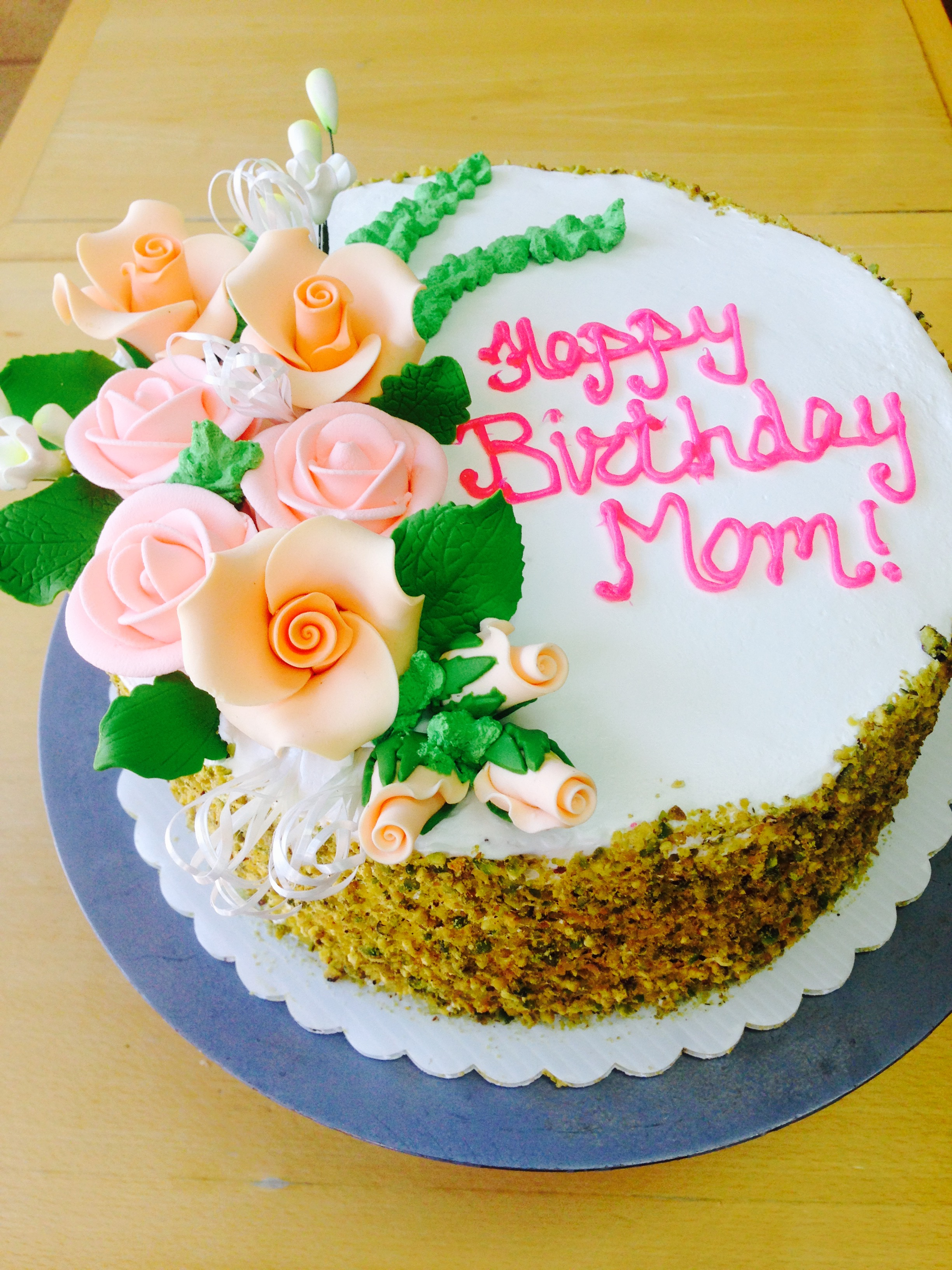 Birthday Cake for Mom July 2015 Wild Berries Bakery and Cafe