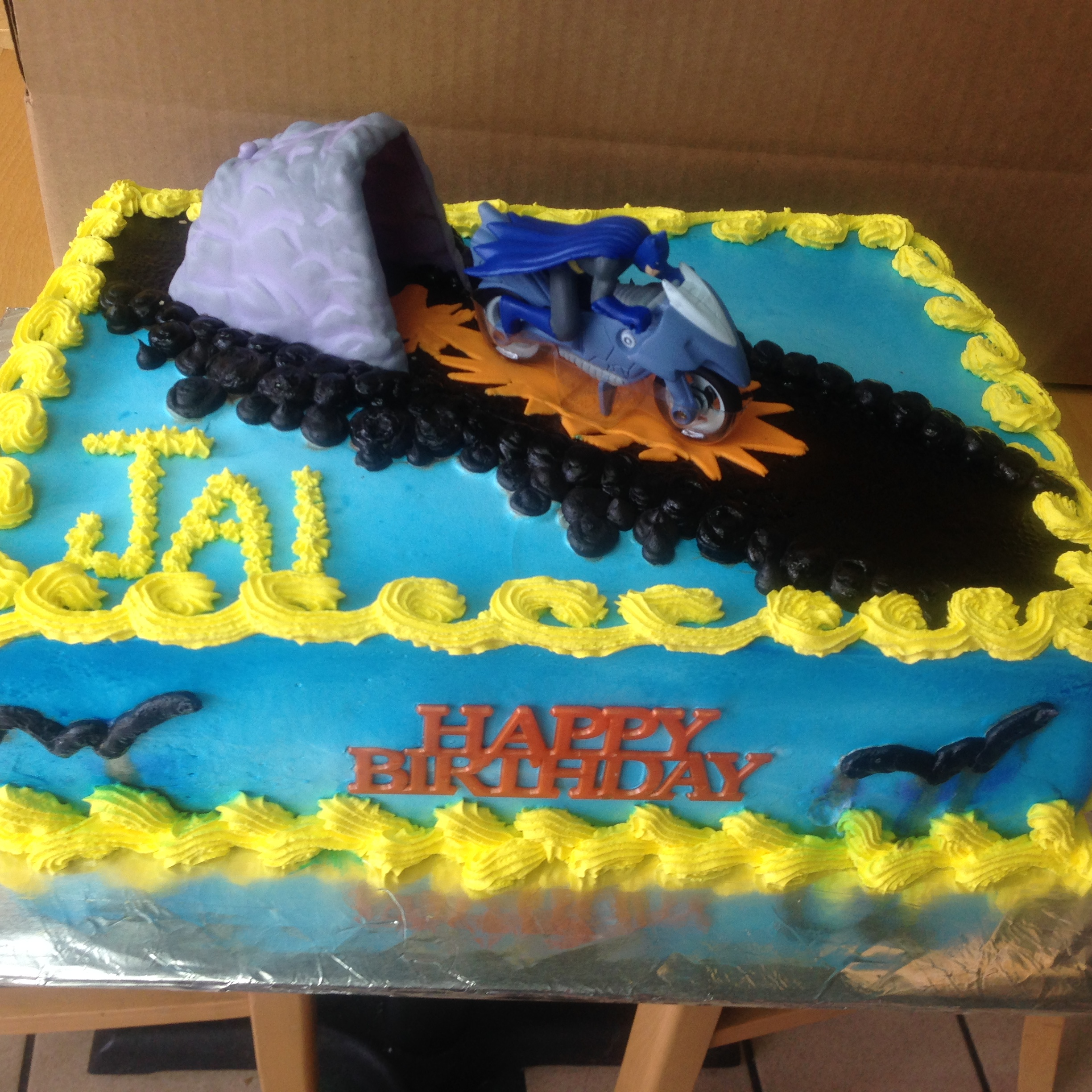 Batman Birthday Cake Wild Berries Bakery and Cafe