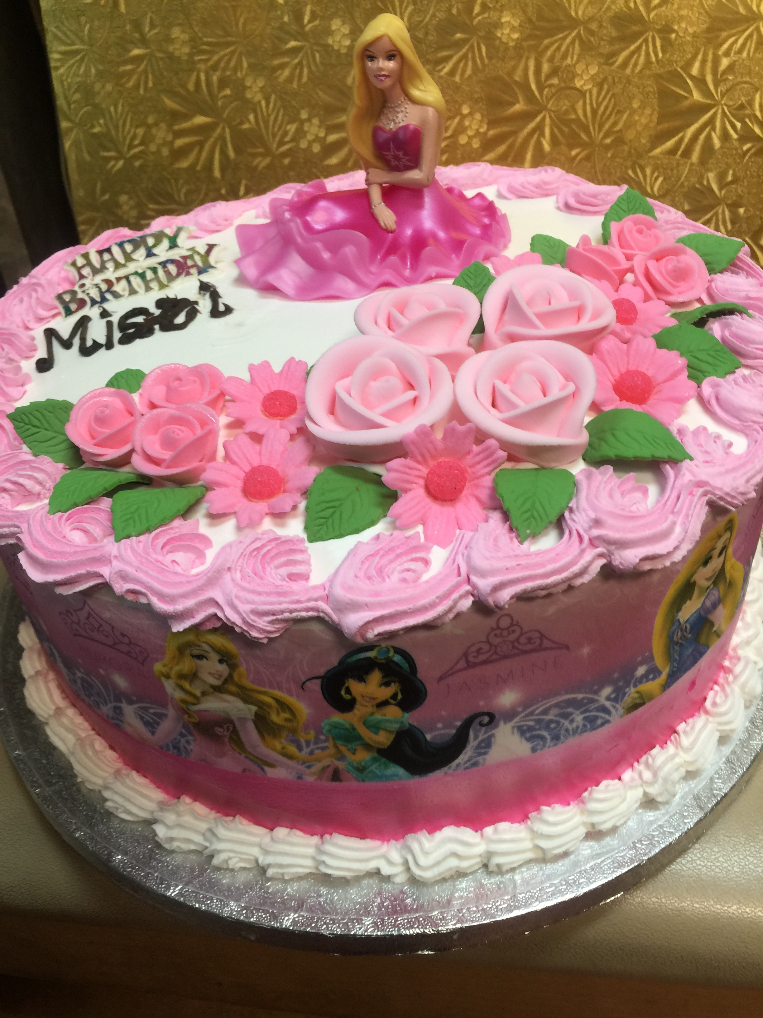 Disney Princess Birthday Cake Wild Berries Bakery And Cafe