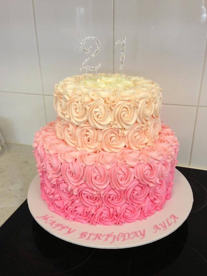 Triple Chocolate 21st Birthday Cake