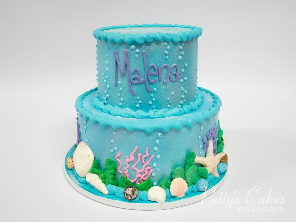 Miraculous Ocean Themed Birthday Cake Wild Berries Bakery And Cafe Funny Birthday Cards Online Aeocydamsfinfo
