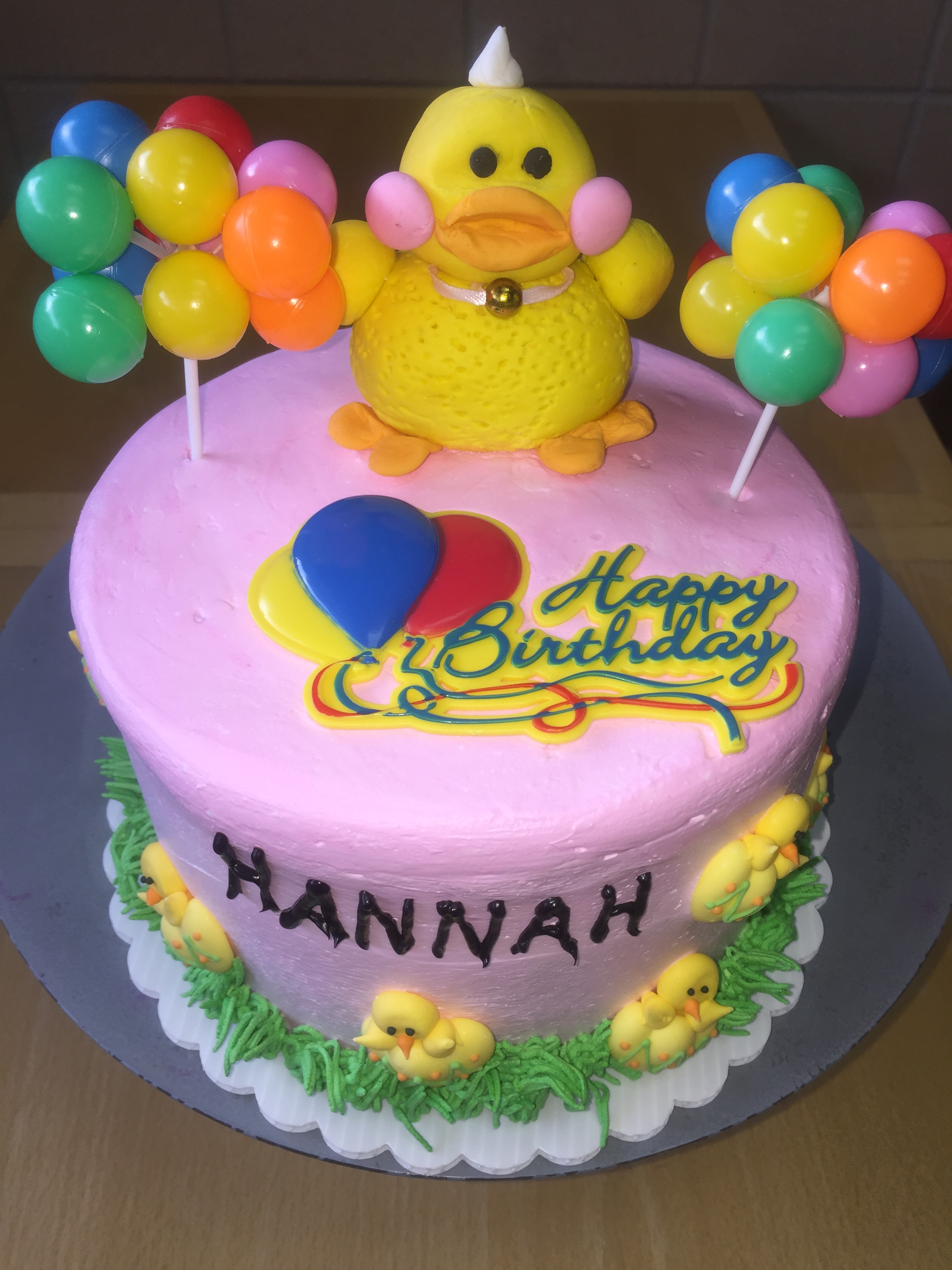 Pleasant Rubber Ducky Birthday Cake Wild Berries Bakery And Cafe Funny Birthday Cards Online Inifofree Goldxyz