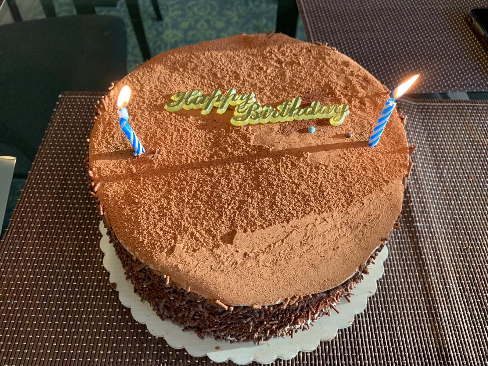 Superb Tiramisu Birthday Cake Wild Berries Bakery And Cafe Funny Birthday Cards Online Necthendildamsfinfo